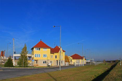 Győr-Gönyű Kikötő - RO-RO Terminal