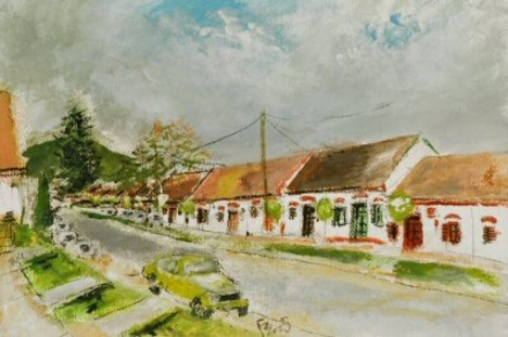 A villányi pincesor - Forster Jakab