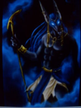 Anubisz - Egyiptomi isten