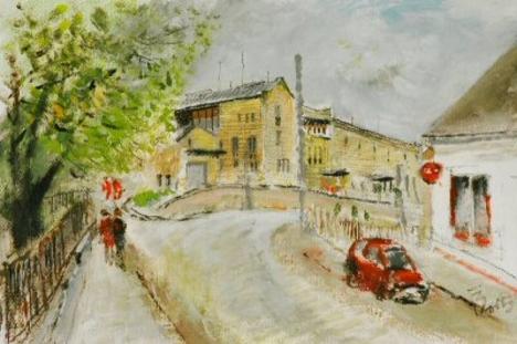 Csányi pincészet - Baross utca - Forster Jakab