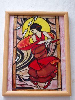 Flamenco táncosnő