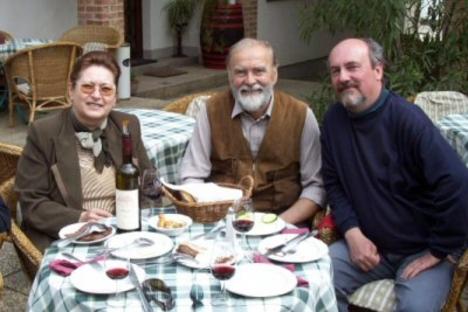 Forster Jakab vendégségben a Polgár Pincészetnél