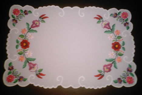 tányér alátét