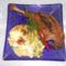 Sűlt kacsacomb kapros jutúrós puliszkával