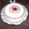 Pezsgő krémes torta 007