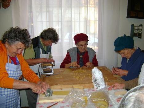 lúdgége tészta készítése