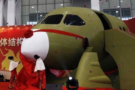 Itt a kínai óriás a Comac C919 08