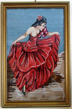 Spanyol táncosnő