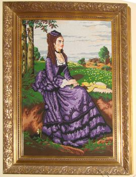 Színyei Merse Pál: A Lilaruhás Nő