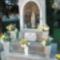 Mária-légió emlékhely a templomkertben