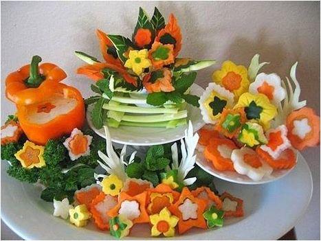 Zöldség-gyümölcs művészet 12