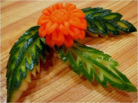 Zöldség-gyümölcs művészet 1