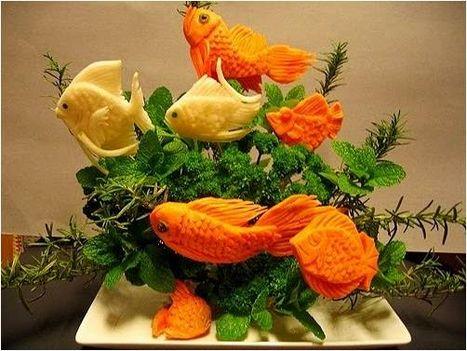 Zöldség-gyümölcs művészet 34