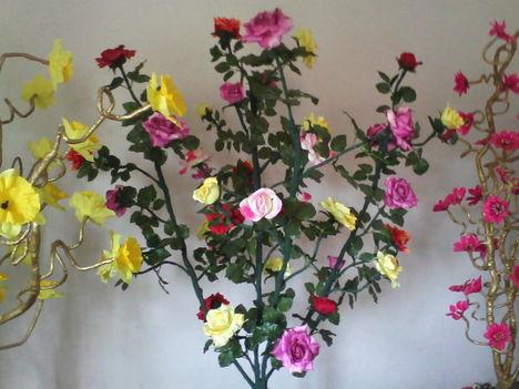 Egyedi készitésű,világitós virágok! 5