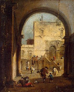 F_Guardi_Venetian capriccio(1777)