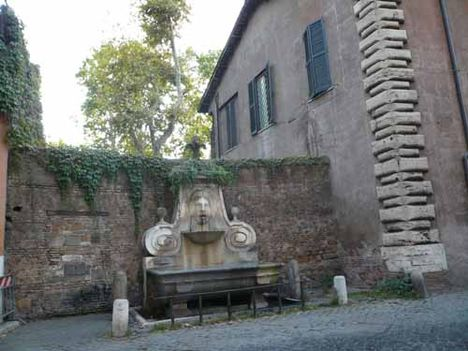 fontana via giulia roma