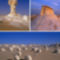 Fehér Sivatag alakzatai