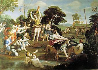Domenichino - La caccia di Diana