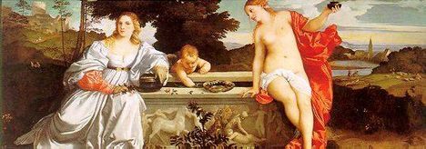 Tiziano - Amor Sacro e Amor Profano