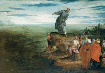 Veronese - La predica di Sant'Antonio ai pesci