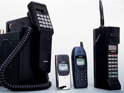 régi mobiltelefonok
