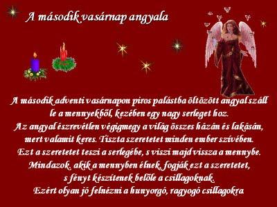 Advent - A második vasárnap angyala