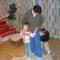 Farkas Peti és kishúga a Mikulás előtt