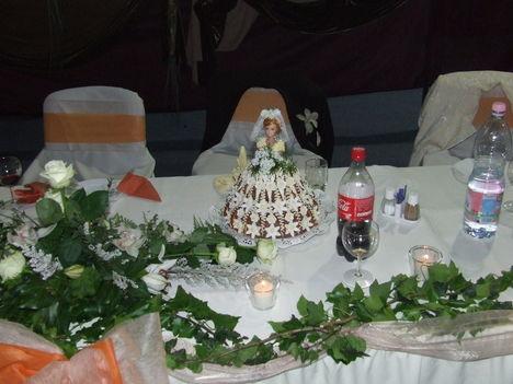 Menyasszonyi torta/Dobostorta Kicsit másképp/