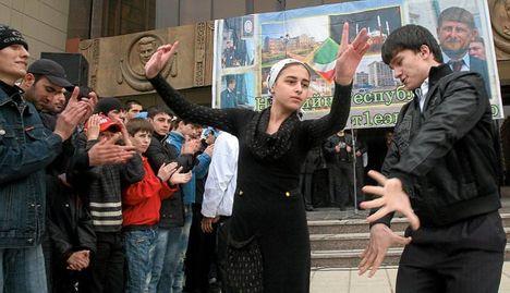 Csecsenföldön