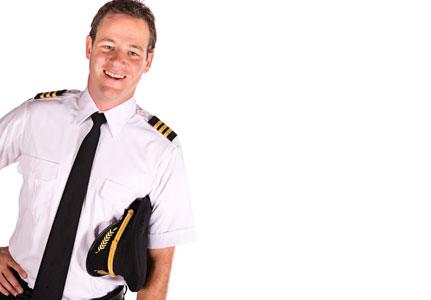 pilóta munkába áll