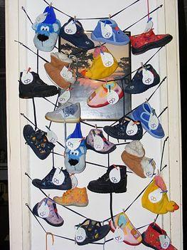Adventi naptár cipős