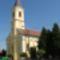 A templom elötti fásítás