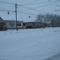 Téli alkony a Kereszt utcában
