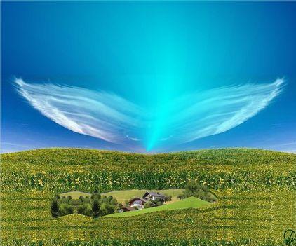 angyalszárny felhő,tanulságos történet
