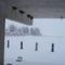 Tél a kikötőben,üres fecskefészkek
