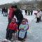 Három unoka a jégen