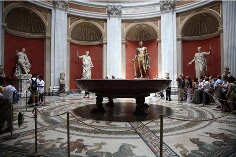 Néro fürdője a Vatikáni Múzeumban