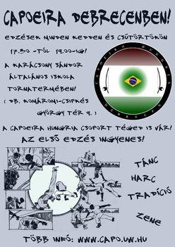 Capoeira Hungria plakát