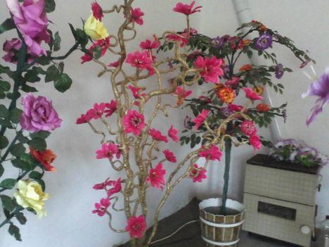 Egyedi készitésű,világitós virágok! 2