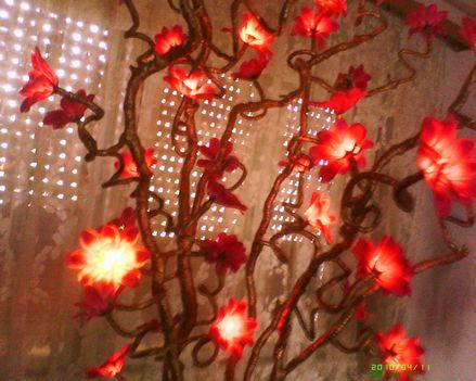 Egyedi készitésű,világitós virágok! 6