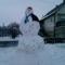 az óriás hóember