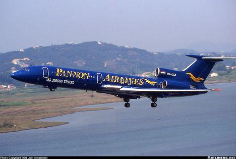 Pannon Airlines Korfu