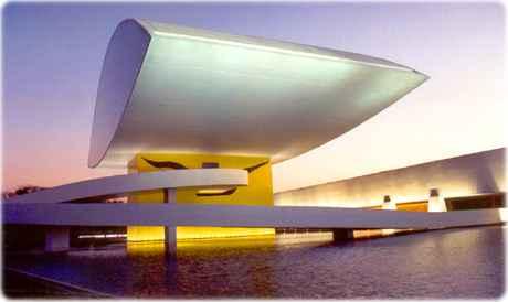 Az Oscar Neimeyer múzeum, Curitiba