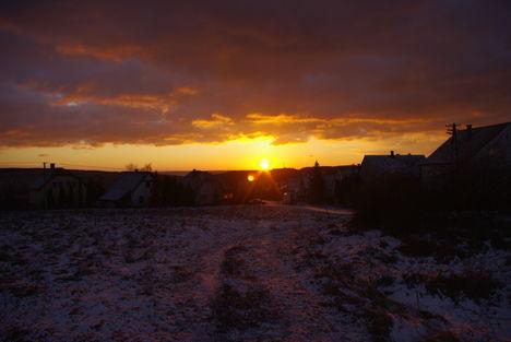 Litári tájképek napfelkelte