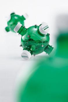 Műanyag palackból persely