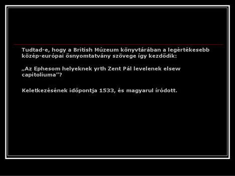 érdekességek a magyar nyelvről 17