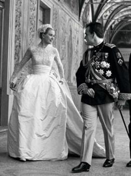 Grace Kelly és Rainier herceg