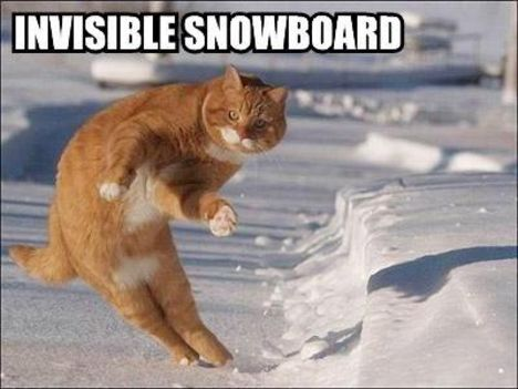 Láthatatlan snowboard
