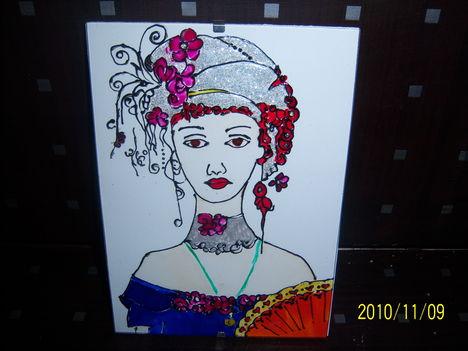 Színes hölgy