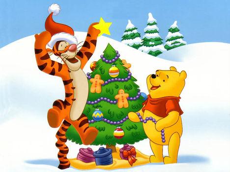 Tigris és Micimackó Karácsonya